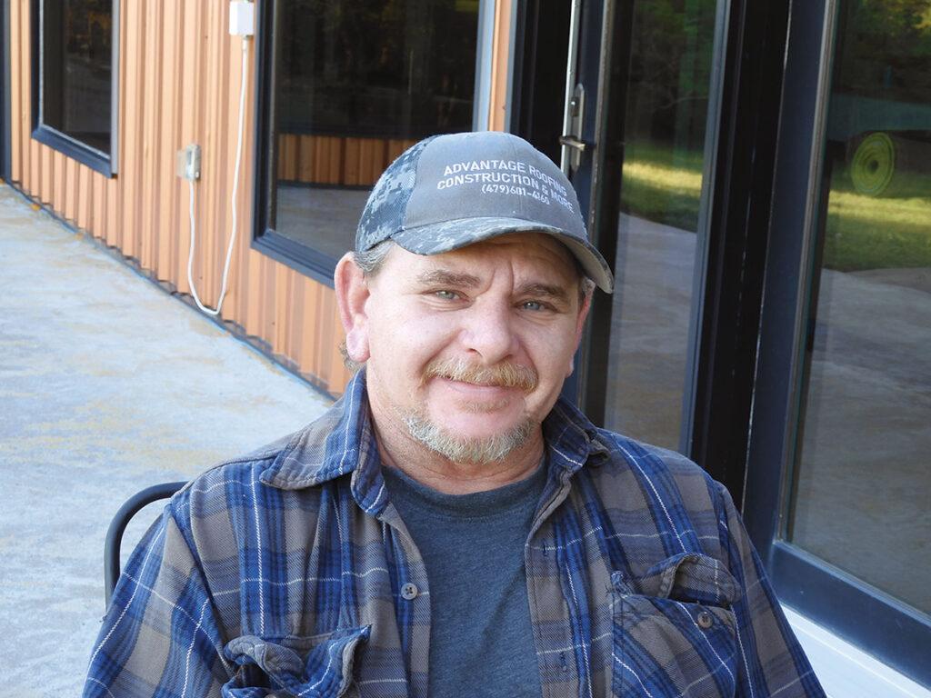 Lee Graham of Greenland Arkansas. Photo by Terry Ropp.