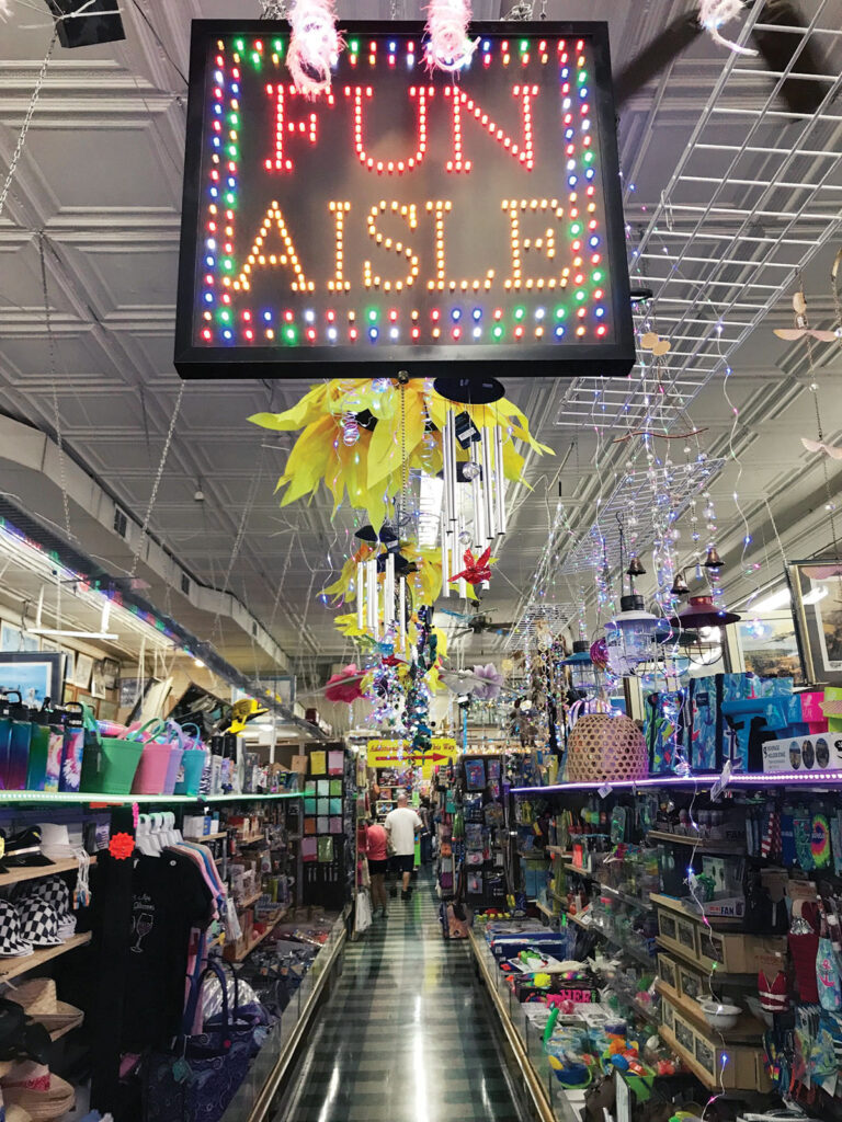 Fun Aisle at Dick's 5 & 10 in Branson, Missouri. Photo by Kevin Thomas.
