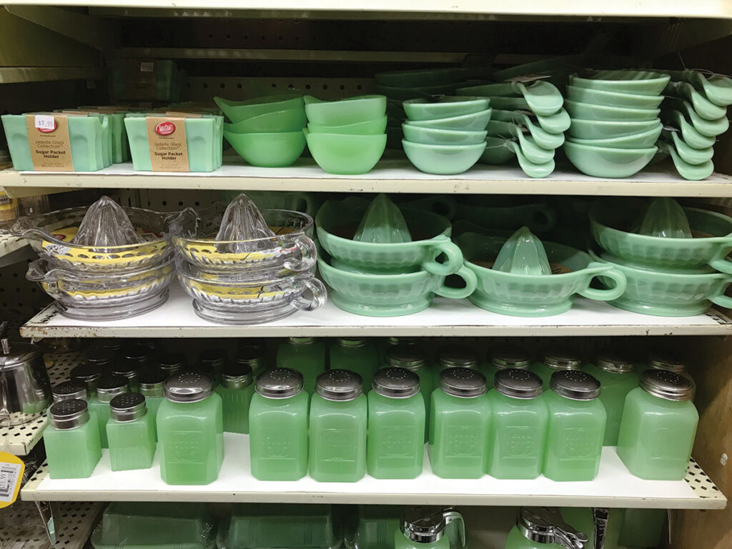 Kitchen items available at Dick's 5 & 10 store in Branson, Missouri. Photo by Kevin Thomas.