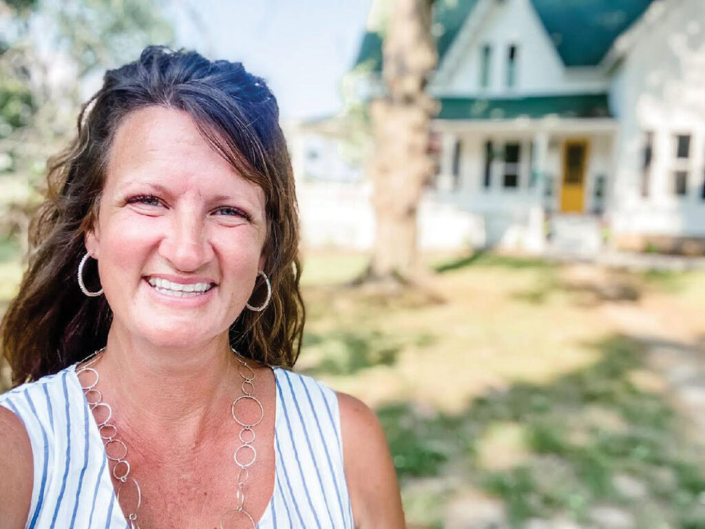 Michele Broxton, owner of Ozark Farms' Airbnbs in Rolla, Missouri. Michele remodeled the Historic Green Acres Farmhouse and opened it as her first Airbnb in May 2019. Submitted Photo.