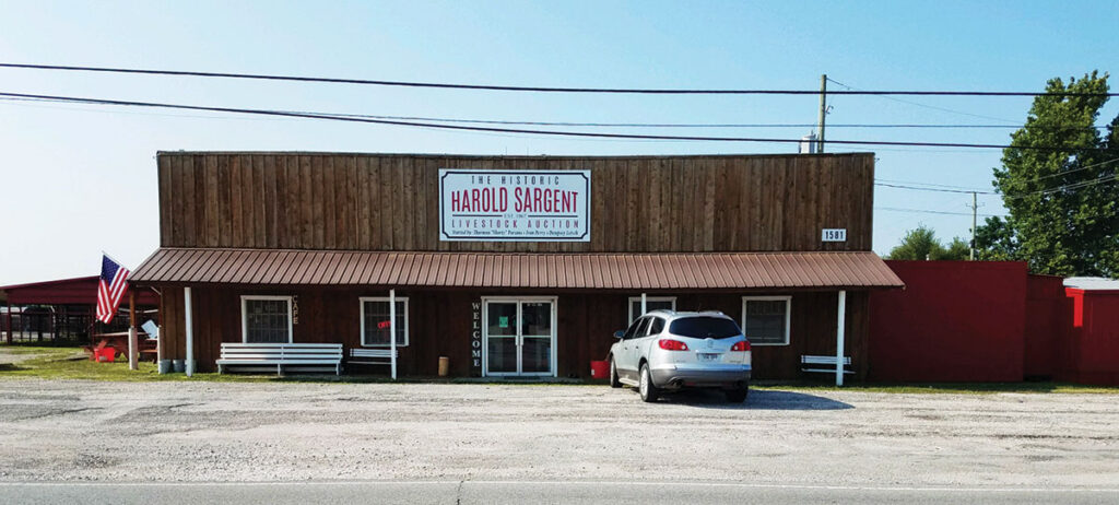 Farmers Regional Sale Barn in Springdale, Arkansas had the management assumed by Ruth Jones in 2020. Submitted Photo.