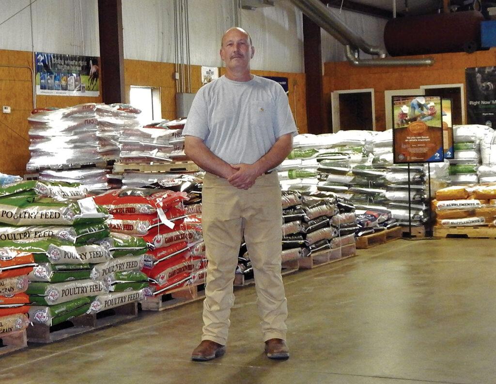 Martin Farm and Feed in Southwest City, Missouri. Photo by Katrina Hine.