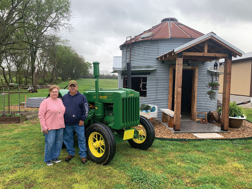 Mick and Debbie Cooley enjoy the rural way of life, and the work ethics that come with living on a farm. Photo by Rachel Harper.