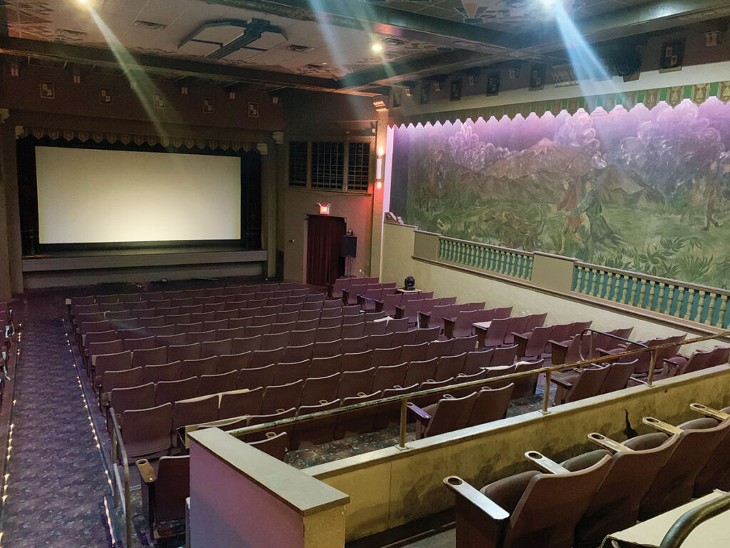 Inside The Plaza Theater. Submitted Photo.