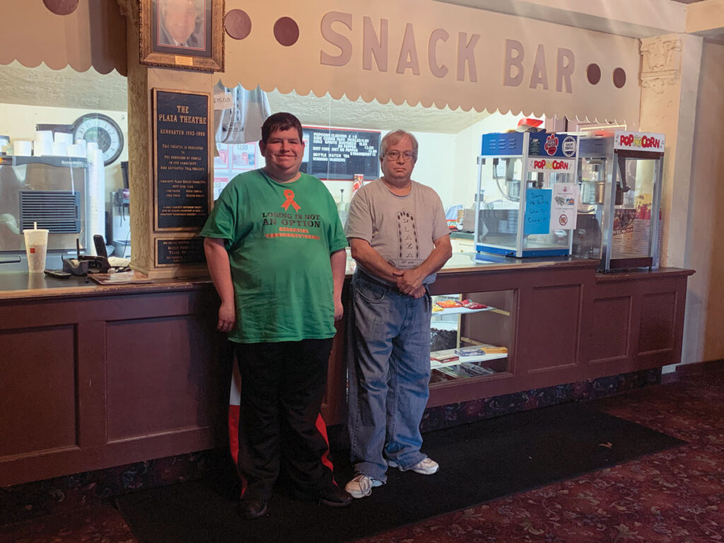 Snack Bar area in the Plaza Theatre. Submitted Photo.