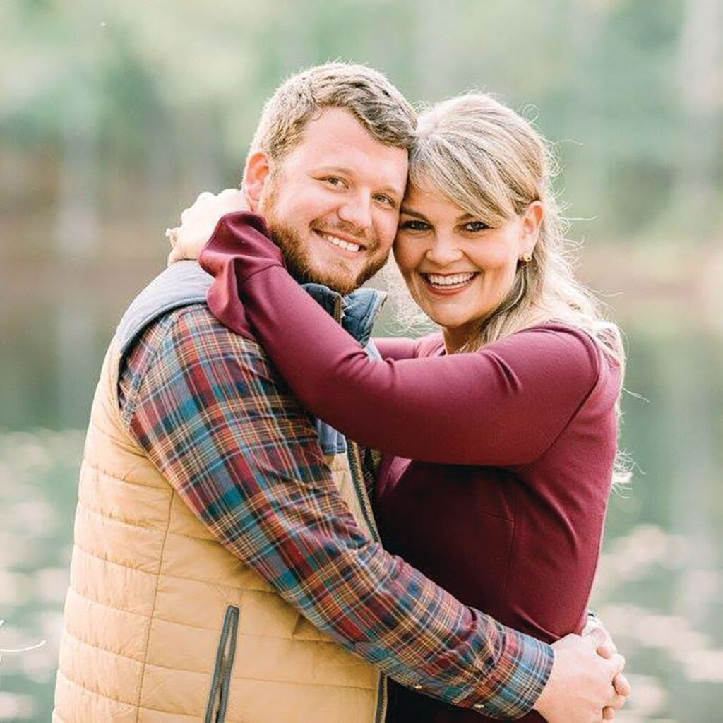 Tyler and Laura Beaudreau of Roland, Arkansas. Submitted Photo.