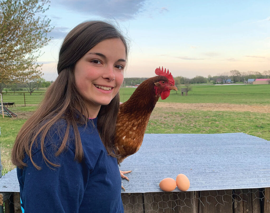 Hannah Fehring of Neosho Missouri. Photo by Rachel Harper.