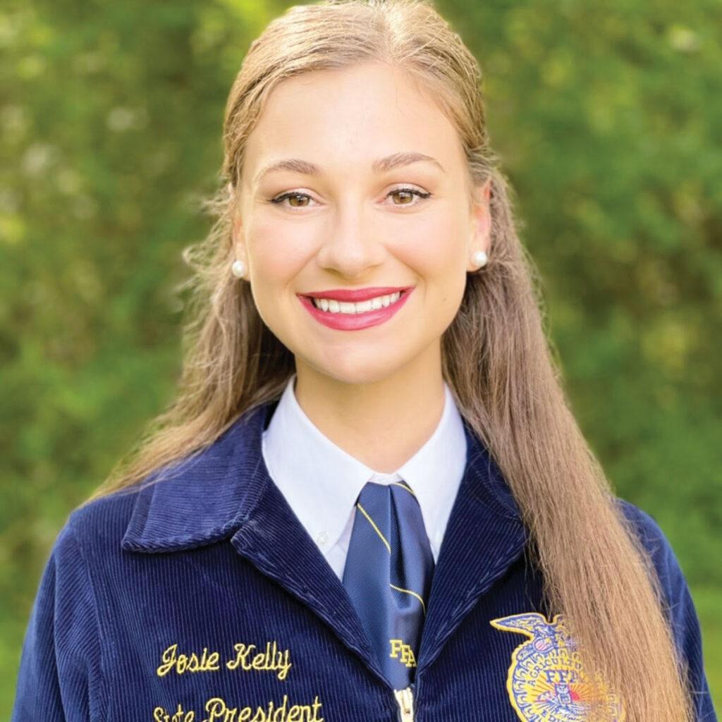 Arkansas FFA State President Josie Kelly. Submitted Photo.